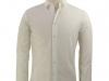 chemise-blanc-naturel-col-rond