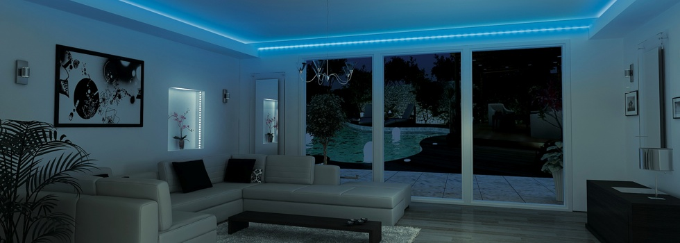 Decoration led interieur for Decoration luminaire interieur