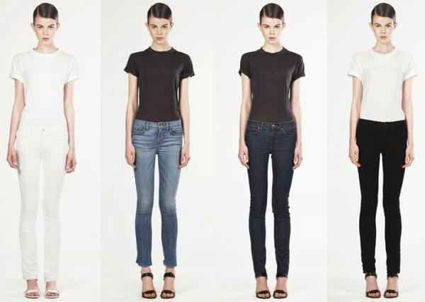 les jeans color s de j brand x christopher kane pleaz. Black Bedroom Furniture Sets. Home Design Ideas