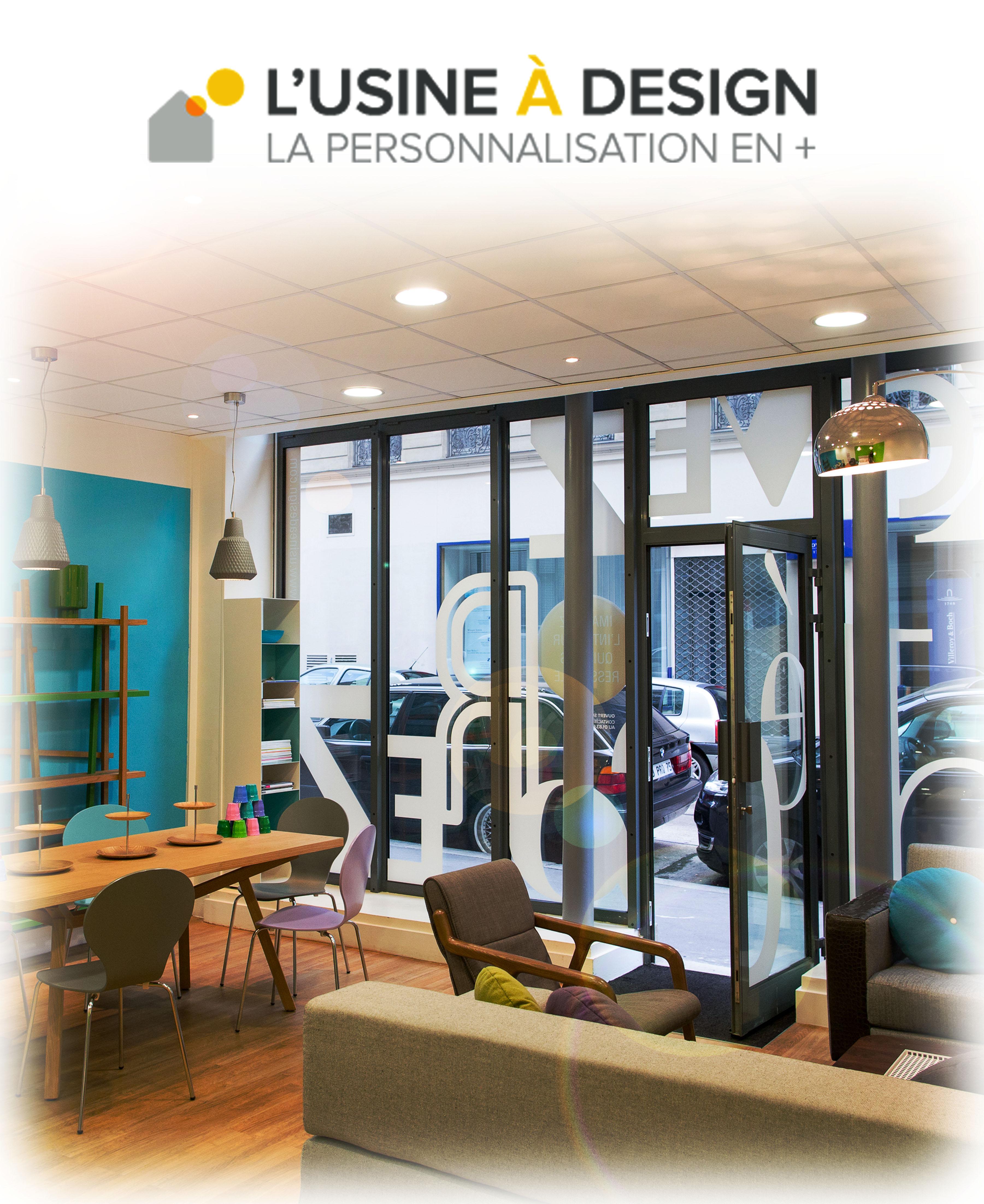 l 39 usine design ouvre son showroom parisien pleaz. Black Bedroom Furniture Sets. Home Design Ideas