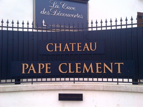 Entree Pape Clement