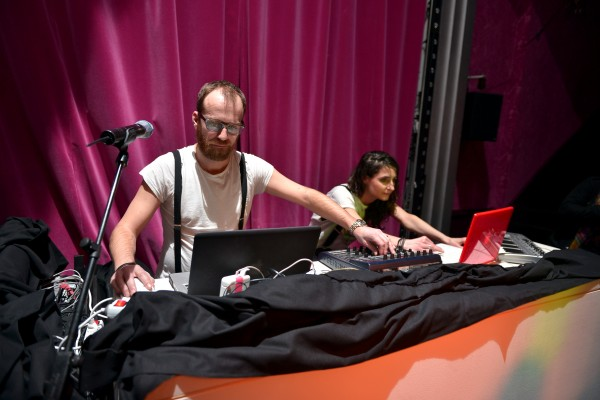 Scratch Massive, Sebastien Chenut & Maud Geffray