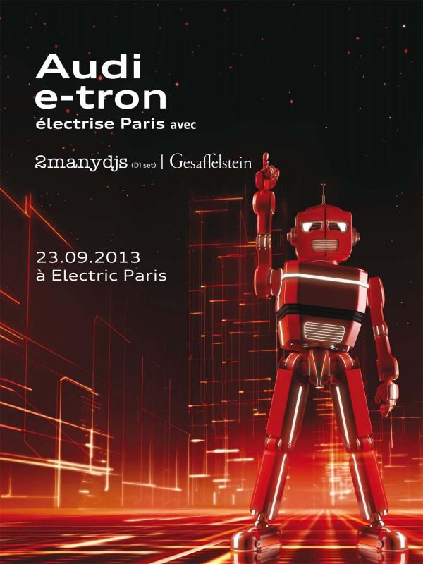 Affiche Audi e_tron Line_up