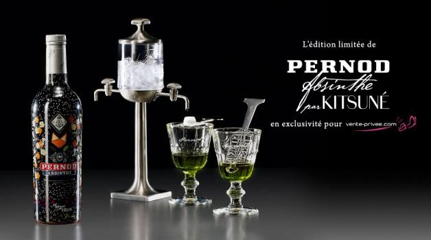 Pernod Absynthe Kitsune Vente Privee