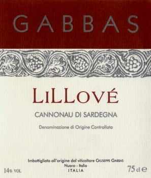 Giuseppe-Gabbas-Cannonau-di-Sardegna-Lillove