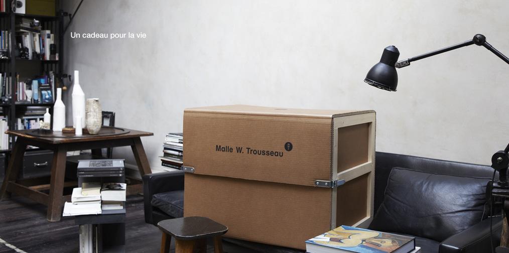malle w trousseau et quindici l 39 quation parfaite pleaz. Black Bedroom Furniture Sets. Home Design Ideas