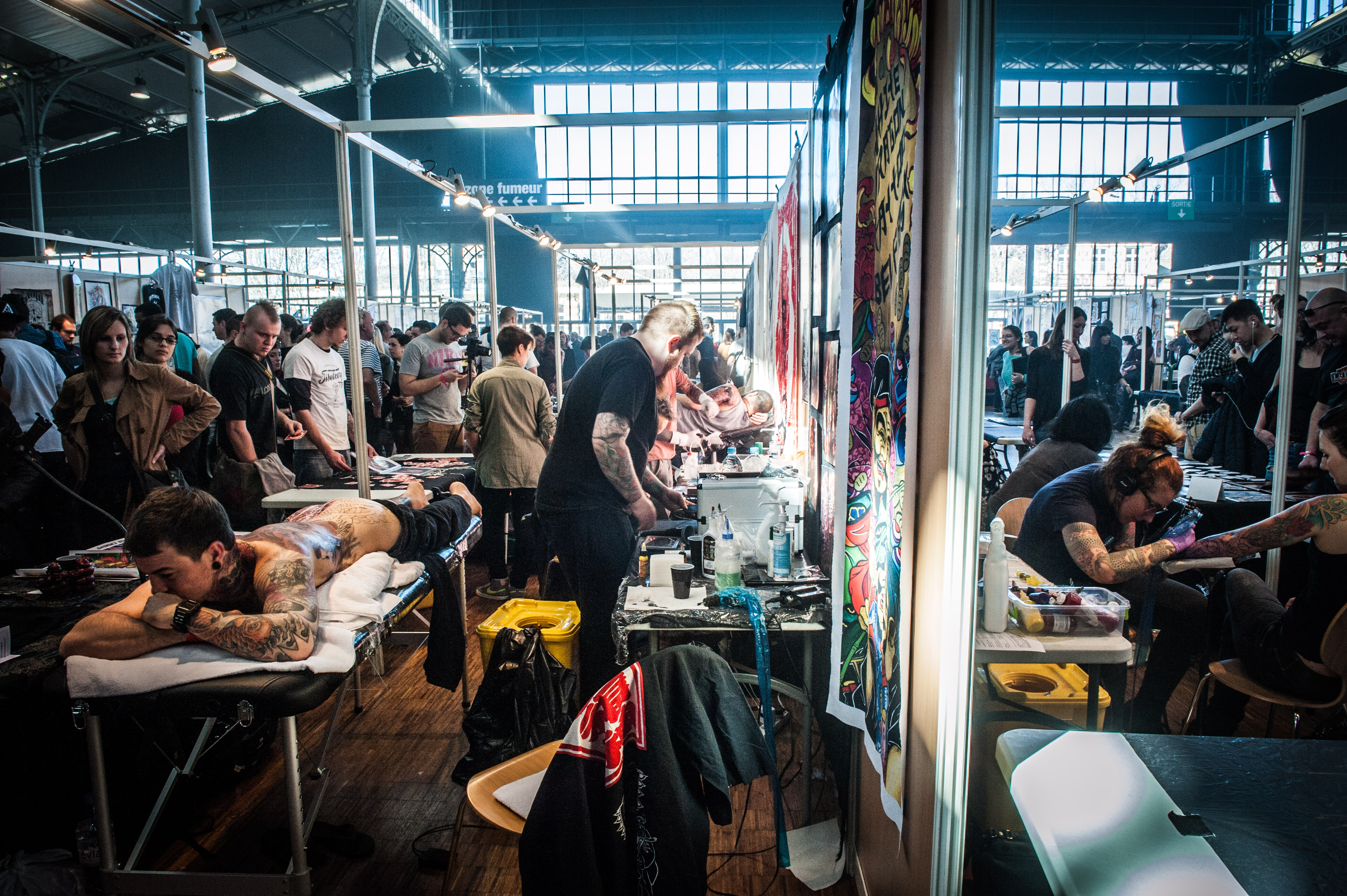 Mondial du tatouage 2015 grande halle de la villette pleaz for Salon a paris
