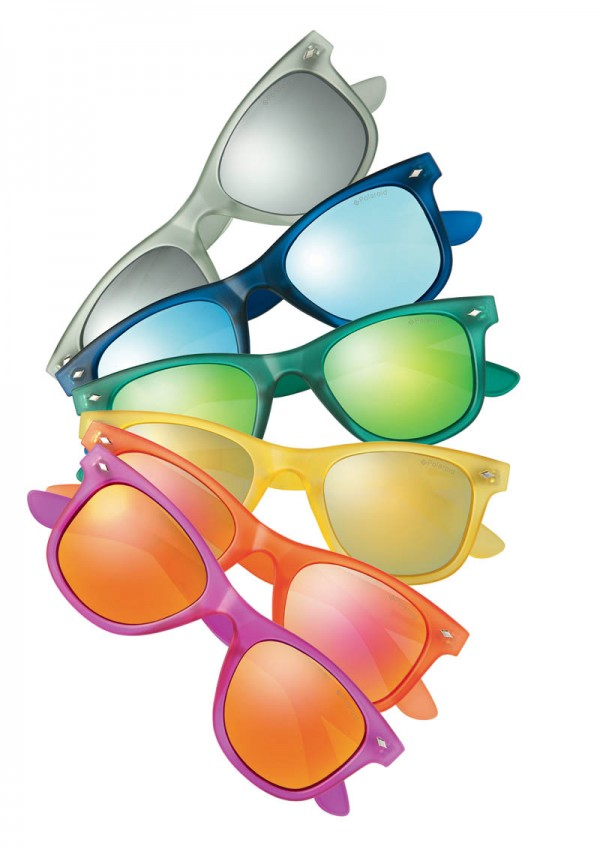 poolaroid arc en ciel sunglasses