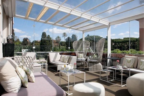 City trip en italie part 2 un h tel et restaurant avec - Trattoria con giardino milano ...