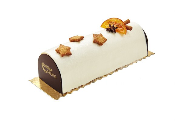 Bûche pain d'épices 1 D.Saibron