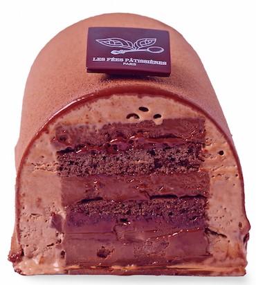 Les Fées Pâtissières_bûche au chocolat
